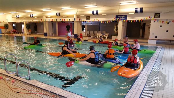 Zwembadcursus kanovaren in Grave