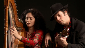 Zuid Amerikaans harpconcert