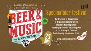 Beer & Music 2019 op Kasteel Tongelaar in Mill
