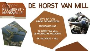 Tentoonstelling 'De Horst van Mill, Reliëf in het landschap'.