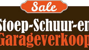 Stoep- en Schuurverkoop