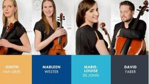 Het Dudok Kwartet Amsterdam bij Kunst in het Kerkje