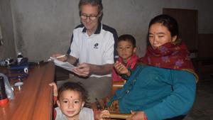 Hans in Nepal