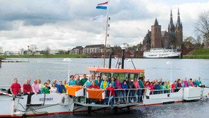 Noisy Voices op de pont Cuijk