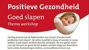 Workshop 'Goed slapen' in de Bibliotheek Boxmeer