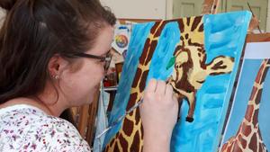 Happy Painting Workshop in het Kloosterhuis in Sambeek