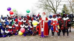 Sint komt aan in Boxmeer