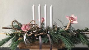 Kerststuk Berends