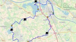 Route 80 van Cuijk