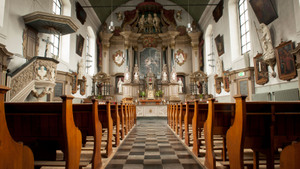De Passion in de kerk van het Emmausklooster