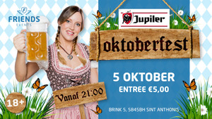 Jupiler Oktoberfest bij Friends