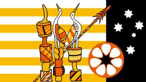 Tiwi Islandersflag