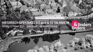 TV Talkshow Linders&Linders Live – thema Historisch Spektakel