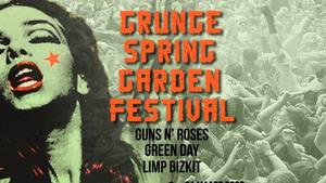GEANNULEERD - Spring Garden Grunge Festival