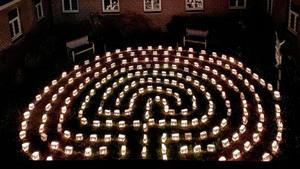 Beleef de magie van het lichtlabyrint
