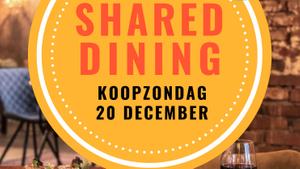 Koopzondag Shared dining