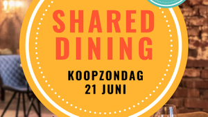 GEANNULEERD - Koopzondag Shared dining