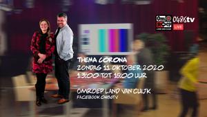 De talkshow Linders&Linders Live terug in Catharinahof Grave met het thema Corona.