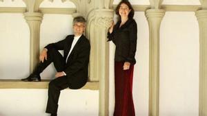 Volker Janig en Uta Singer