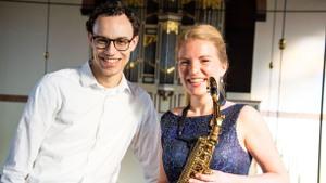 Duo Calyptura concert in Ottersum