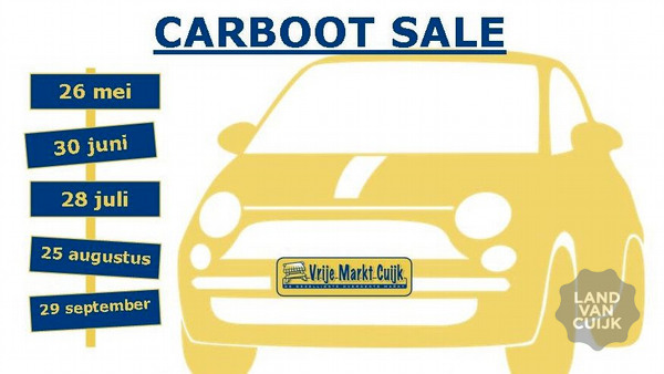 Carboot Sale Vrije Markt Cuijk