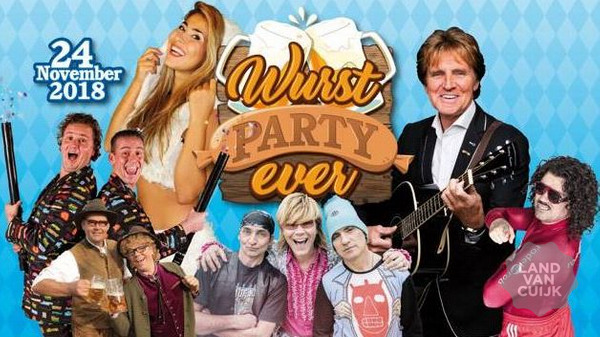 Wurst party ever bij Ebben in Cuijk