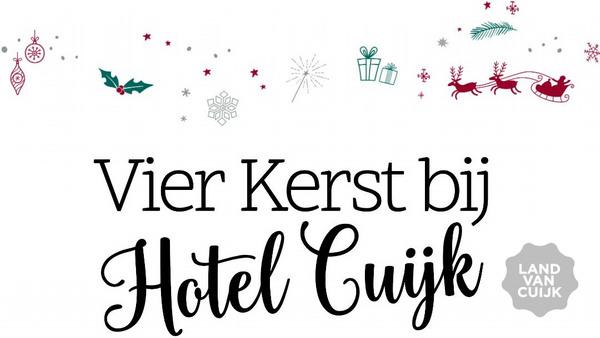 Kerst lunchbuffet bij Hotel Cuijk
