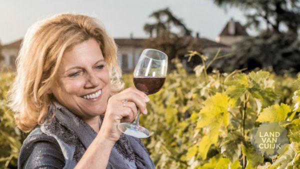 Wijnproeverij in eigen wijngaard