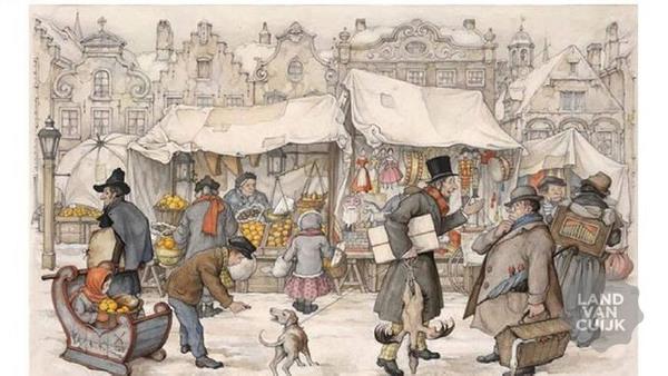 Interculturele kerstmarkt