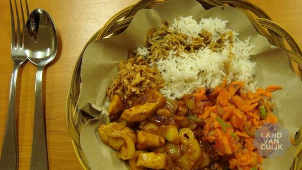 Interculturele lunch bij Safina