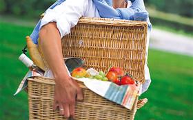 Anders Fietsen met picknickmand