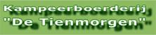 Kampeerboerderij De Tienmorgen logo