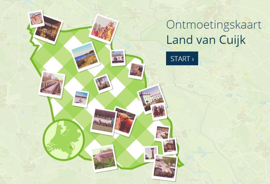 Ontmoetingskaart Land van Cuijk logo